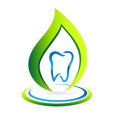 prophylaxis: dental care sign  Illustration