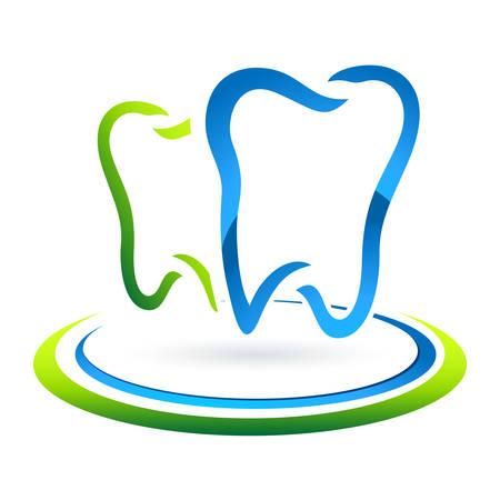 dental care sign  Иллюстрация