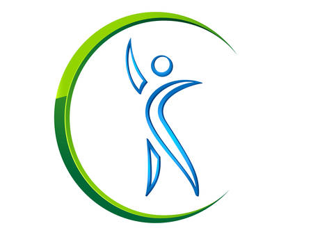 icone sanit�: Icona di fitness Vettoriali