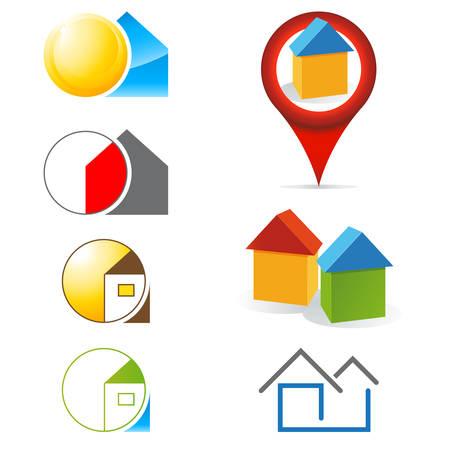 estate: real estate icons
