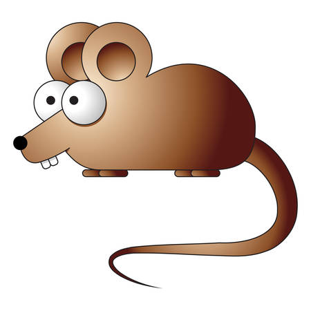 mice: cartoon mouse - icon