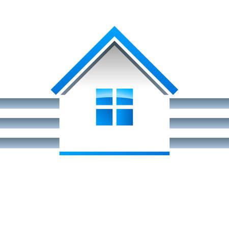 housetop: real estate, house - vector icon