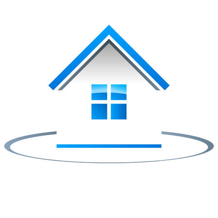 real estate, house - vector icon