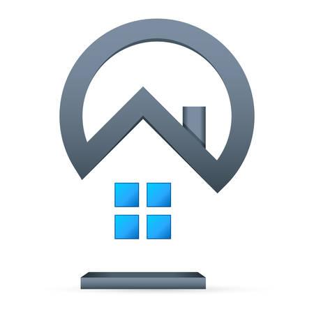 estate: real estate - vector icon