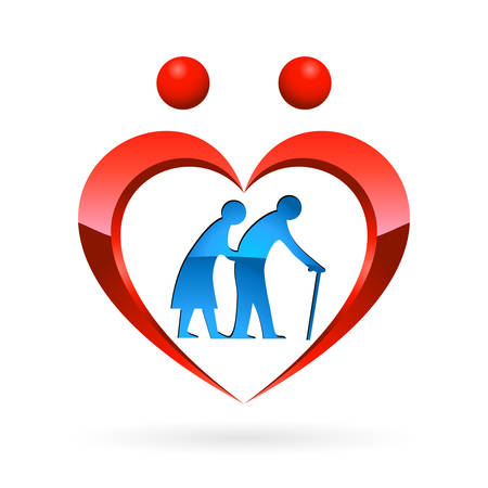 nursing home icon - vector illustration