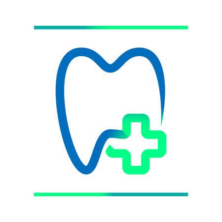 medical signs: dentist icon  illustration