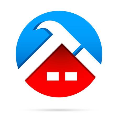 roofer: roofer  slater - vector illustration