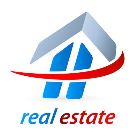 brokerage: real estate symbol - vector illustration