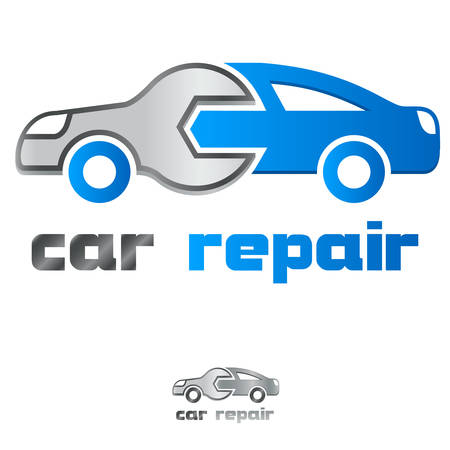 service station / car repair icon Illustration