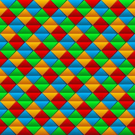seamless colorful blanket pattern - vector background