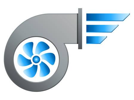 air blower illustration