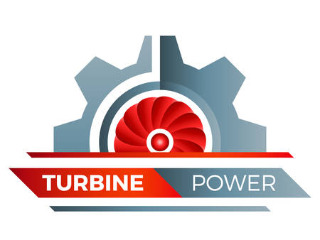 turbine power - logo design