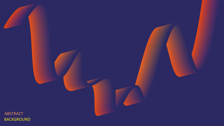 Abstract background in the form of multicolored luminous lines. EPS10.