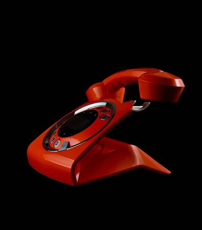 Orange phone Stock Photo - 11871585