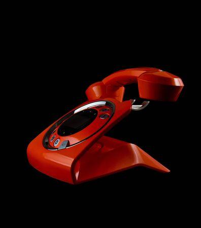 Orange phone Stock Photo - 11871585
