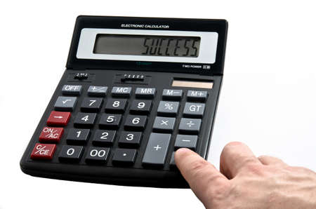 Calculator with word Success on display photo