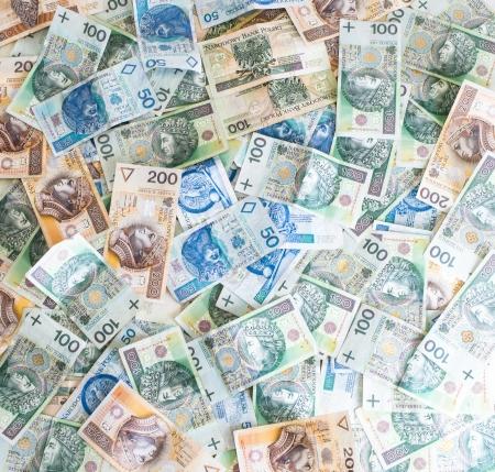 Wallpaper of Polish money - Polish zloty
