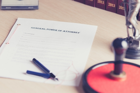 certifying: Prepared to be signed by a notary public power of attorney