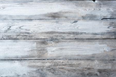 backdrop design: Old grey wooden floor. Texture, background Stock Photo