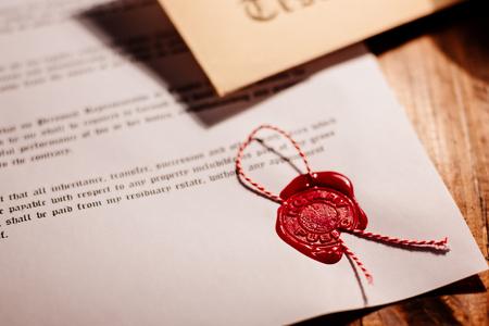 Notariusz pieczęć woskowa publicznego - uszczelnienie na notarialnie dokumentu
