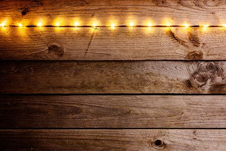 old wooden rustic christmas background with star shaped lights stock photo 68633008 - Rustic Christmas Background
