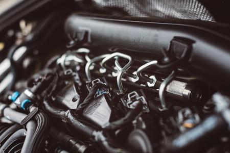 Modern turbocharged diesel engine fuel supply system