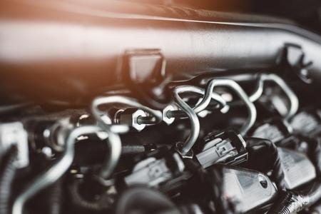 現代のターボチャー ジャー付きディーゼル エンジン燃料供給システム