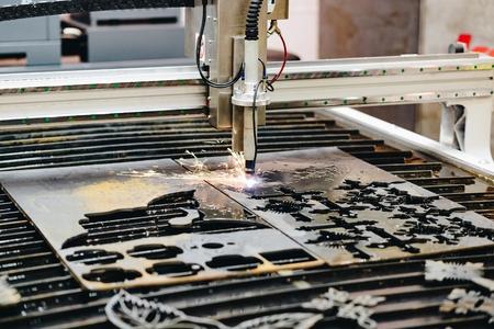 High precision CNC plasma cutting machine Zdjęcie Seryjne