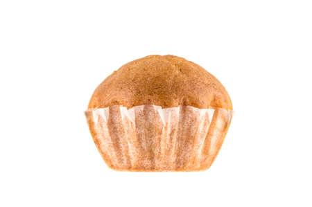 small cake on white background Stock Photo