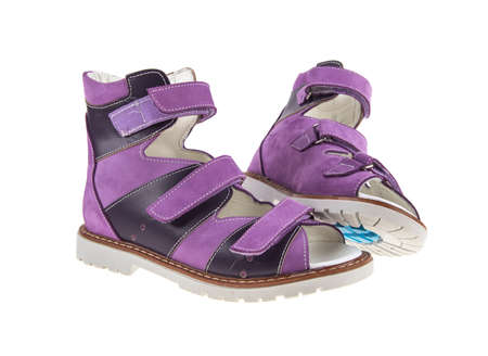 orthopedic sandals isolated on white background Reklamní fotografie