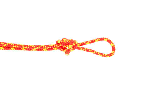 rope for tourism, mountaineering isolated on white background Фото со стока