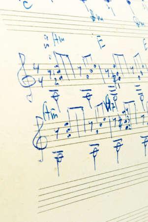 slur: music notes background