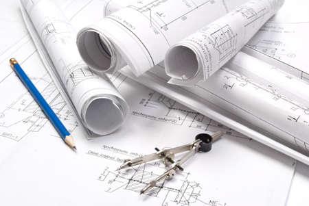 dibujo tecnico: Y diversas herramientas de dibujo