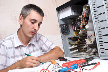 IT Engineer Working Stock Photo - 5028208