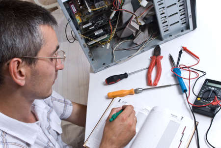 IT Engineer Working Stock Photo - 5028226