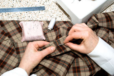 hand sewing Stock Photo - 5114476