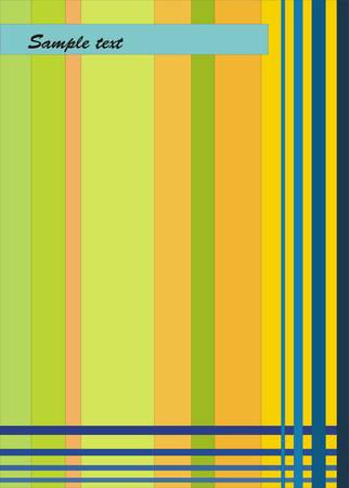 banding:  multicolored background Illustration