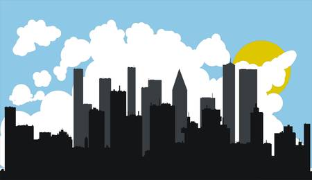 City vector Stock Vector - 5143377
