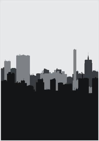 City vector Stock Vector - 5197433