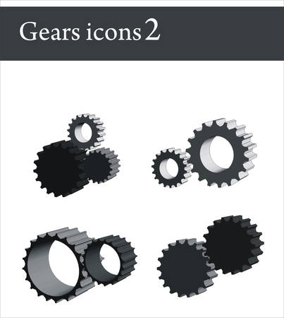 pinion: Gears icons