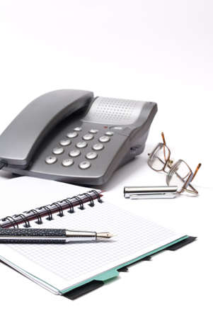 writing utensil: business concept