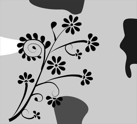 Floral cardv Stock Vector - 5468482