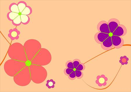 Floral card Stock Vector - 5468465