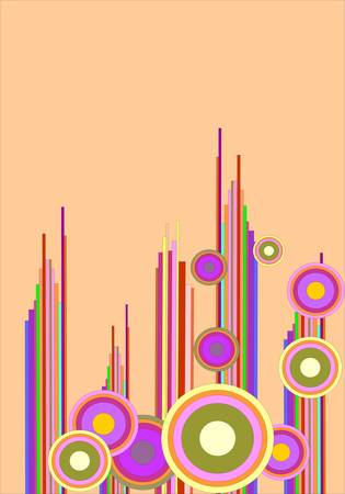 banding: abstract background Illustration