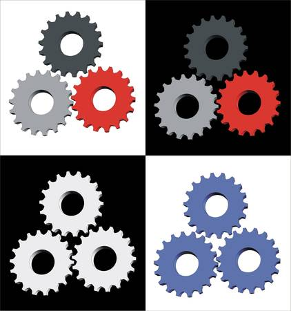 Gears icons Stock Vector - 5507338
