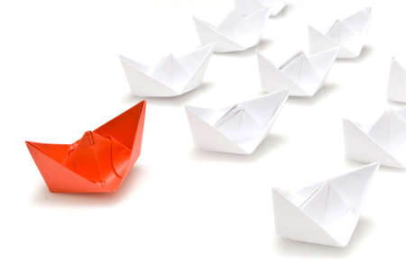 paper boat: Paper boats