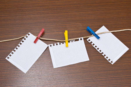 business metaphore: Papers for notes
