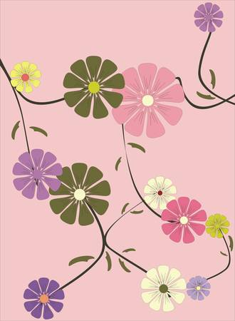 Floral collection Vector