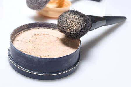 brush and powder  photo