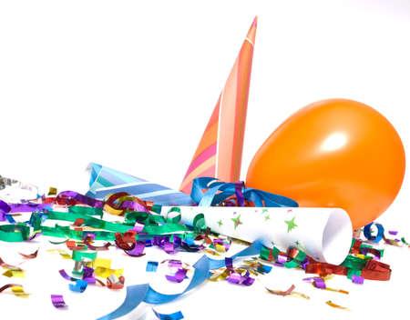 ballons and confetti photo